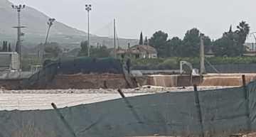 La Academia Benferri CF informa de la destrucción parcial de sus instalaciones debido a los efectos de la DANA