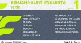 Estos son los 6 grupos de las nuevas Ligas Valenta Benjamín-Alevín 2019-2020