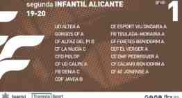Confirmados los 10 grupos FFCV de la Segunda Infantil de Alicante