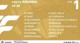 Descubre aquí los 14 grupos oficiales 2019-2020 de Segunda Regional FFCV