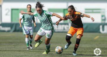 El Valencia Femenino hinca la rodilla ante el Betis debido a la falta de pegada (1-0)