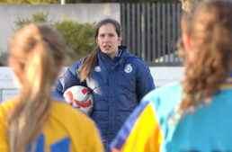 Andrea Esteban (Valenta Sub-15): 'Estas jugadoras se merecen estar en una fase final'