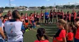 El Clínic Valenta de Llíria reunió a 34 niñas para disfrutar del fútbol