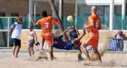 La FFCV clausuró una histórica temporada de futplaya en la Patacona