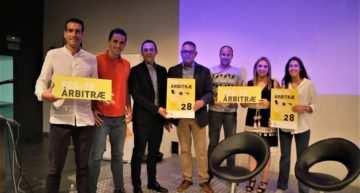 Charla arbitral en Ontinyent el 24 de septiembre de la mano de Rita Cabañero y Saúl Ais