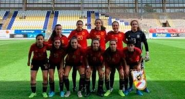 España Sub-17 Femenina se impuso a EEUU en un partidazo con muchos goles (3-4)