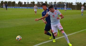 Japón sorprende a la España Sub-19 de Santi Denia y le gana con un gol de penalti en Murcia