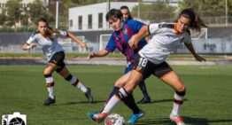 La efectividad del Levante se impone al Valencia en el derbi de filiales (0-2)