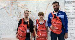 La FFCV coopera con desfibriladores en la Media Maratón de Valencia