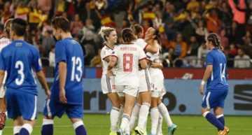 España se impone de manera cómoda a Azerbaiyán (4-0)