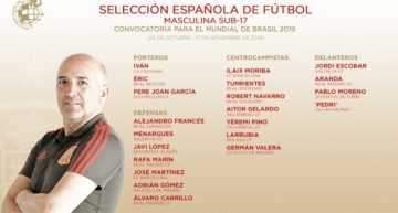 Cuatro jugadores de equipos valencianos disputarán con España el Mundial Sub-17 de Brasil