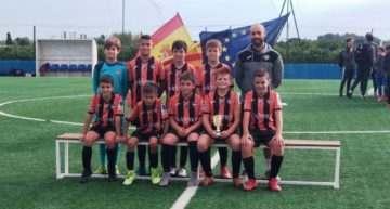 Primeros seis clasificados para la Fase 2 de la X Copa Federación Alevín