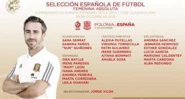 Seis jugadoras del fútbol valenciano, convocadas por Jorge Vilda ante Polonia