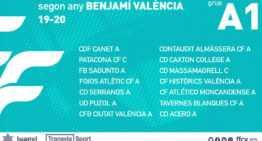 Los Grupos A de categoría FFCV Benjamín y Alevín ya tienen grupos para la 2019-2020