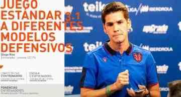 Conferencia en València de Diego Ríos, entrenador del Levante UD FS, el próximo 11 de noviembre