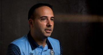 Santi Triguero: 'Las jugadoras tienen mucha ilusión de meterse en la fase final'