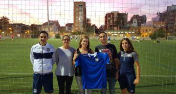 Sonia Torres: 'No queremos que ninguna niña esté durante muchos años viendo el fútbol desde la grada'