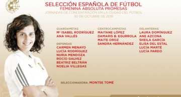 La primera convocatoria de la Selección Femenina Promesas incluye a cuatro valencianas