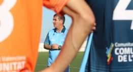 La Selecció Valenciana prepara la UEFA Region's Cup con el técnico 'Guti' al frente