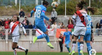 Dos penaltis y carrusel de tarjetas: polémica derrota del VCF Femenino en su visita al Rayo (3-2)