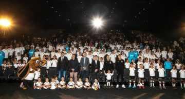 Gran puesta de largo de la Escuela de la Asociación de Futbolistas VCF 2019-2020 en los Cines Kinépolis