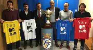 Mesa redonda con Mateu Lahoz, Óscar Fernández y Ruth García para presentar el 18º Torneo Fiesta del Fútbol