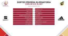 Los ocho equipos valencianos en Copa del Rey ya conocen sus primeros rivales