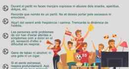 6 trucos para disfrutar del deporte (por televisión) de forma saludable