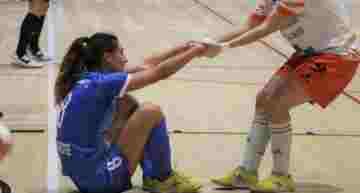 Universidad de Alicante se impuso al Xaloc en el primer derbi femenino en Primera (2-9)