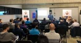 La 'masterclass' de Marc Carmona triunfó entre los entrenadores FFCV de Castellón