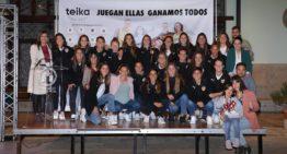 GALERÍA: La campaña 'Juegan Ellas, Ganamos Todos' vuelve a contar un año más con el VCF Femenino