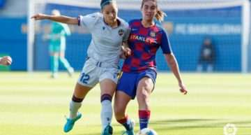Demasiado Barça para el Levante Femenino (5-0)