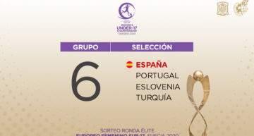 España Sub-17 femenina se medirá en la Ronda Élite del Europeo a Portugal, Eslovenia y Turquía