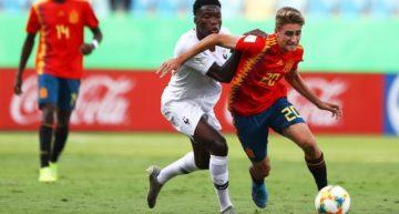 Descalabro español ante Francia y eliminados del Mundial Sub-17 (6-1)