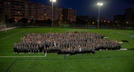 GALERÍA: CD Malilla 'estrena' su campo de fútbol-11 en su presentación 2019-2020