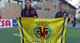 Salma y Lorenzo Paralluelo deslumbran en la cantera del Villarreal