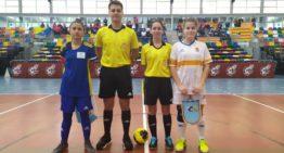 GALERÍA: Las mejores imágenes de la doble victoria en futsal femenino de Aragón ante Canarias