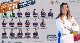 Oficial: convocatoria de Andrea Esteban para la Selección FFCV Sub-15 Femenina en el Campeonato de España