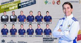 Estas son las 12 jugadoras convocadas por la Selección FFCV Femenina Sub-19 de futsal para el Campeonato de España