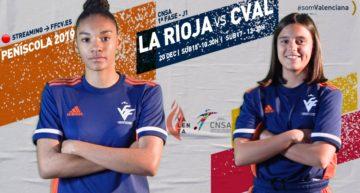 STREAMING: En directo, La Rioja vs Selecció FFCV (viernes 20 de diciembre)
