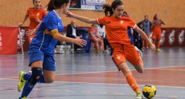 La derrota de la Selecció Valenta de futsal Sub-16 ante Aragón deja a las valencianas eliminadas (2-6)