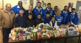 El CFI Alicante mostró su solidaridad con los más necesitados