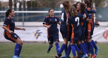 La Selecció FFCV Femenina Sub-15 tuvo que remar para sacar un punto ante La Rioja (2-2)