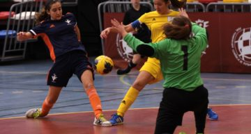 GALERÍA: La Selecció Valenta Sub-16 de futsal se impuso a Canarias en su debut (8-3)