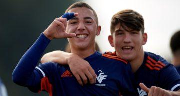 GALERÍA: La 'apisonadora' de la Selección FFCV Sub-16 venció con contundencia a Melilla (8-0)