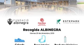 Cáritas y el CD Castellón organizan un recogida solidaria el viernes 20 en Estepark