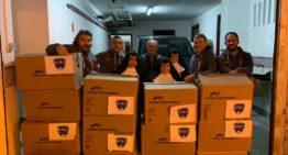 CF San José bate su récord con más de 650 kilos de alimentos recogidos esta Navidad