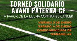 El Avant Paterna organiza un Torneo Solidario a favor de la AECC el 3 y 4 de enero