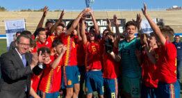 España Sub-16 conquista la Sportschain AGS Cup en Benidorm
