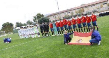 España Sub16 se impone a Japón en su debut en la AGS Cup (4-2)
